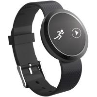 Fitband F4S智能手环运动心率监测运动计步心率睡眠监测来电提醒古铜黑