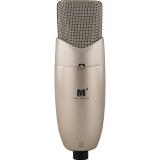 艾肯(iCON) M3 大振膜电容麦克风 网络K歌 录音棚专用 三种指向可调