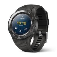 HUAWEI WATCH 2 華為第二代智能運動手表藍牙版 藍牙通話 GPS心率FIRSTBEAT運動指導 NFC支付 碳晶黑