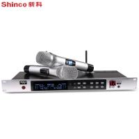 新科(Shinco)U60 专业U段无线麦克风 一拖二舞台演出家庭KTV酒吧演唱调频专业话筒