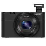 索尼(SONY) DSC-RX100 黑卡数码相机 2020万?#34892;?#20687;素 等效28-100mm F1.8-F4.9蔡司镜头 1080P视频