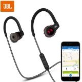 JBL Under Armour 智能心率监测 专业运动无线蓝牙耳机 入耳式耳机 手机线控耳机 黑色
