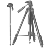 斯丹德(sidande) DG1765三脚架佳能尼康宾得通用单反相机便携摄影独脚架 三维云台三角架 稳定支架