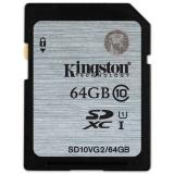 金士顿(Kingston)64GB 80MB/s SD Class10 UHS-I高速存储卡