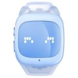 搜狗糖猫(teemo)儿童智能电话手表 棉花糖-通话版 GPS定位 防丢防水 海量故事 计步 天空蓝
