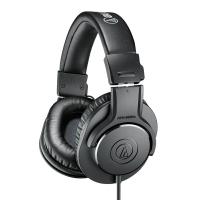 铁三角(Audio-technica)ATH-M20x 入门级专业监听头戴式耳机
