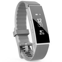 clingband智能手环 运动心率 微信互联 户外触摸屏 来电显示 多项专业运动模式 SOS求救 紫外线监测 经典黑