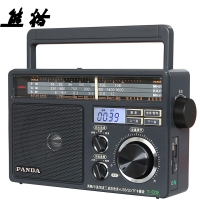 熊猫(PANDA) T-09三波段插卡式(USB SD TF卡)收音机 MP3播放器 老人插卡音响 半导体