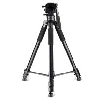 缔杰(DIGIPOD) TR-889 三脚架 黑色轻便型摄像机/单反相机专用三脚架