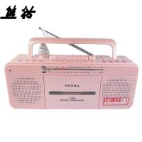 熊猫(PANDA) F-336 台式磁带U盘复读机 磁带录音机  MP3播放器 播放机 学习机 (红色)