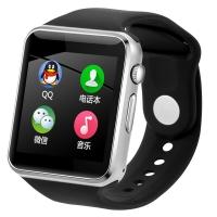 智力快车 MX2 触屏儿童电话手表手机男可插卡 儿童智能手表手机手表穿戴 黑色
