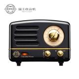 猫王(MAO KING)小王子OTR 手机便携蓝牙音箱 收音机 迷你音响 骑士黑