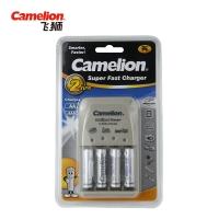 飞狮(Camelion)BC-0905A 4槽智能快充套装 5号/7号电池通用配4节900毫安7号充电电池 鼠标/键盘