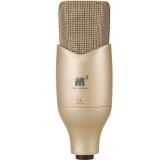 艾肯(iCON) M2 大振膜电容麦克风 网络K歌 录音棚专用 内置高通滤波器和10dB衰减旋钮