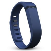 Fitbit Flex 时尚智能乐活手环 无线运动睡眠蓝牙腕带海军蓝