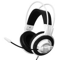 硕美科(SOMIC) G925 头戴式电脑耳麦 电竞游戏耳机  带线控  白色
