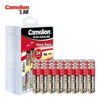 飞狮(Camelion)碱性电池 干电池 LR6/AA/5号 电池 24节 鼠标/血压计/血糖仪/玩具/相机/指纹锁/话筒
