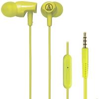 铁三角(Audio-technica)ATH-CLR100is LG 入耳式线控通话耳机 智能手机专用耳麦 橧绿色