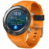 HUAWEI WATCH 2 华为第二代智能运动手表4G版 独立SIM卡通话 GPS心率FIRSTBEAT运动指导 NFC支付 活力橙