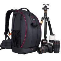 锐玛(EIRMAI) EMB-D2330 专业单反相机包双肩摄影包大容量防盗多功能数码单反包 红边