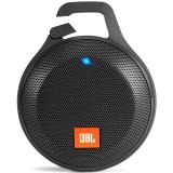JBL Clip+ 音乐盒升级防水版 蓝牙 便携音箱 音响 户外迷你小音响 音箱 防水设计 高保真无噪声通话 爵士黑