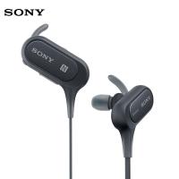 索尼(SONY)重低音防水蓝牙运动耳机 MDR-XB50BS 黑色