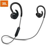 JBL Reflect Contour 无线蓝牙运动耳机 带耳麦线控可通话手机耳机 入耳式防掉耳挂蓝牙耳机 黑色