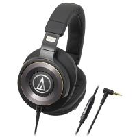 铁三角(Audio-technica)ATH-WS1100iS 便携式智能手机耳麦 黑色