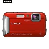 松下(Panasonic) Lumix DMC-TS30 数码相机/运动相机/四防相机 红色 (防水 防尘 防震 防冻 TS25升级版)