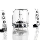 哈曼卡顿(Harman Kardon)SoundSticks III 水晶3代音响 电脑音箱 低音炮 迷你小音响
