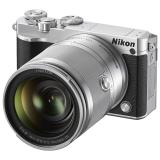 尼康(Nikon)J5 微单相机 尼克尔 VR防抖 10-100mm f/4-5.6 可换镜数码套机 银色(2080万有效像素 可更换镜头 4K视频录制 可翻折触摸屏)