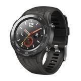 HUAWEI WATCH 2 華為第二代智能運動手表4G版 獨立SIM卡通話 GPS心率FIRSTBEAT運動指導 NFC支付 碳晶黑