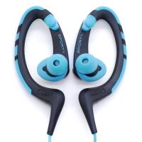铁三角(Audio-technica)ATH-SPORT1 防水运动型手机挂耳式耳塞 蓝色
