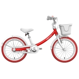 Ninebot九號兒童自行車兒童車女優雅款 小孩寶寶女童單車16寸紅色