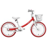Ninebot九号儿童自行车儿童车女优雅款 小孩宝宝女童单车16寸红色