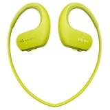 索尼(SONY)可穿戴式运动防水耳机mp3播放器 WS414 (柠檬绿) 8G