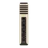 得胜(TAKSTAR)PH-120手机麦克风 唱吧全民k歌主播专用话筒 苹果安卓电容麦 手机直播电脑K歌麦 土豪金