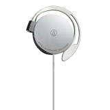铁三角(Audio-Technica)ATH-EQ300M 轻薄耳挂式运动跑步耳机 银色