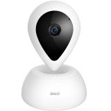360 智能摄像机 悬浮1080P版 网络wifi家用监控摄像头 高清夜视 双向通话 人脸识别 语音交互 白色