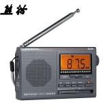 熊猫(PANDA)6128 高灵敏度十二波段 数码显示 钟控全波段闹钟 收音机 半导体老年人礼物