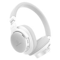 铁三角(Audio-technica)ATH-SR5BT 便携头戴式无线蓝牙耳机 白色