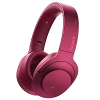 索尼(SONY)h.ear on Wireless NC MDR-100ABN 无线降噪立体声耳机(波尔多红)