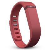 Fitbit Flex 时尚智能乐活手环 无线运动睡眠蓝牙腕带玛瑙红