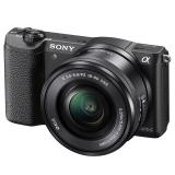 索尼(SONY)ILCE-5100L APS-C单镜头微单相机 黑色(约2430万有效像素 16-50mm镜头 a5100L/α5100)