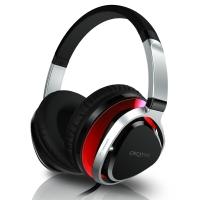 创新(Creative)Aurvana Live2耳机 头戴式可拆卸线控耳机 便捷折叠覆耳式耳麦 红色