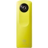 理光(Ricoh)THETA M15   360°全景影像 WIFI、一键全景、手机专用APP、亲友分享 黄色
