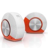JBL Pebbles 音乐蜗牛 电脑小音箱/音响 PC音响 USB供电 低音炮 2.0音响 橙色