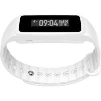 Weloop唯乐Now2心率智能运动手环30米防水游泳触摸大屏信息显示来电提醒微信内容查看日常记录睡眠监测纯白色