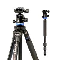 百诺(Benro)三脚架 AF28+ 单反三脚架 铝合金佳能尼康单反相机 转独脚架 专业摄影三角架云台套装