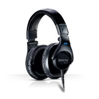 舒尔 Shure SRH440 全封闭专业录音头戴式入门级监听HiFi手机耳机 黑色